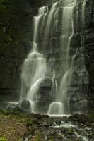 Base of the Hidden Gem Waterfall by darrensmith016