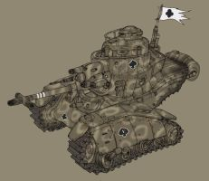 Medium tank by spacegoblin
