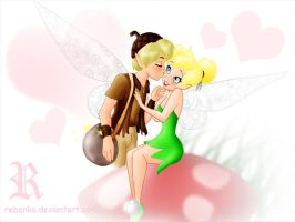 Tinkerbell and Terence by rebenke