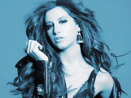Ashley Tisdale Blue by Sweet-Tizdale