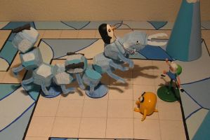 Adventure Time RPG: The Ice-o-pede! by TheWarsman