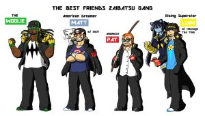 TBFP: The Best Friends Zaibatsu Gang by Brian12