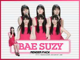[RENDERPACK#043] Bae Suzy (Miss A) by babykidjenny
