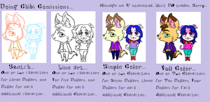 Chibi Comission Info! by cacopony