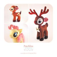 Reindeer, Fawn and Pony PDF Pattern by Patchlins