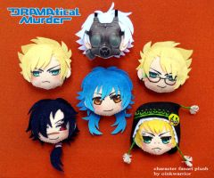 Dramatical Murder keychain plush by oinkwarrior