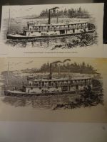 Riverboat print repaired in Pen and Ink by evans96911