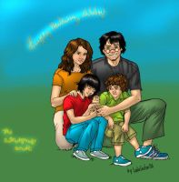 The Potter-Granger Family by BerenicePotter