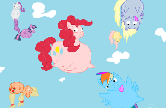 Floating is much more fun by TyranitarQueen