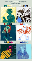 all the colours, all of them by Happypants3