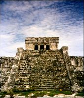 Mayan Temple by Ariel-D