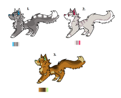 Canine adoptables by Moon-Journey