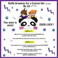CLOSED - 2015 Raffle Drawings For a Custom Hat by LiliNeko