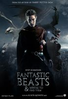 Fantastic Beasts and Where To Find Them Fan Poster by HogwartSite