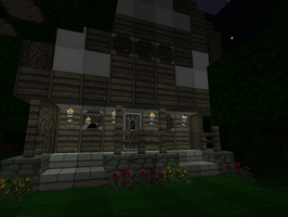 My Minecraft house :D by GroudonMcL