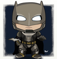 Batman v Superman Armoured Suit by TheHumanSpider7