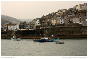 Cornish Harbour by In-the-picture
