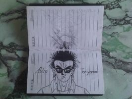 BookDrawing-DRAGONBALL_EVOLITION=06 by eduaarti
