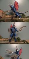 Final Wars Gigan Stock by Legrandzilla