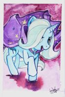 The Great and Powerful Trixie by skardash