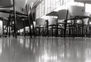 Cafeteria Floor by JessicaSoulier
