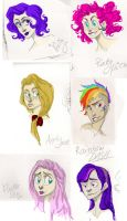 MLP humanised by brassmonki1