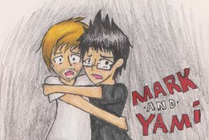 Markiplier and Yamimash by MangaArtSora