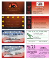 Business Card Samples by westernphilosopher