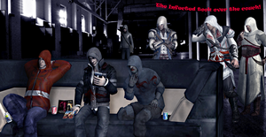Crossover: The Hooded Group Returns by SovietMentality
