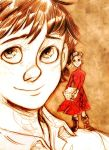Shawn and Arrietty by MistyTang