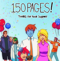 150 pages of Unlife by ZackRI