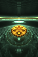 Landing Zone - Fractal Art by CMWVisualArts