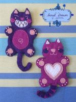 Naughty Twins - bookmarks by Adelaida