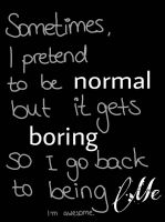 Normal=boring (Day 306) by Hedwigs-art