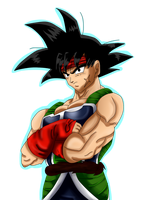 Bardock the Saiyayin by gisselle50