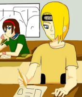 During the Chuunin Exams... by NintendoGal55