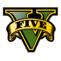 GTA V Gold Logo by eduard2009