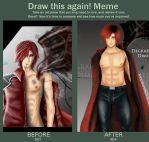 Draw This Again Meme - Genesis Rhapsodos by Seraphim210