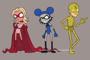 Super Band - line up by kamladolly