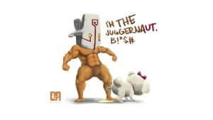 I'm the Juggernaut, B*tch by cedalcalde