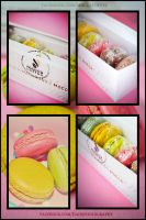 Macarons at Mocca coffee by Jiah-ali