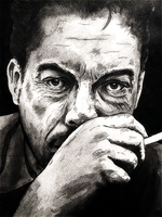 Tim Curry by monkeyswithbrushes