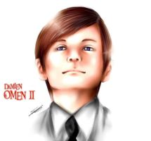 damien thorn: the omen by CheshireCatxAlice