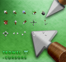 Trowel- cursors. by tchiro