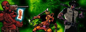 Facebook Cover 3 - Deadpool by CoresShowroom