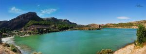 The Panoramic Lake by Andriandreo