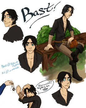 Page o' Bast by in-amorata