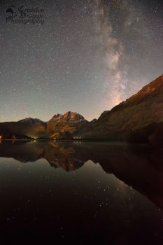 Silver Lake Milky Way by Creative--Dragon