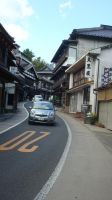The Narrow Streets of Japan by ashweez