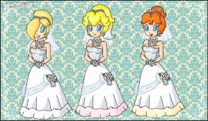 princesses brides by babyblisblink